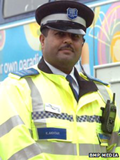 Khalid Akhtar community support officer