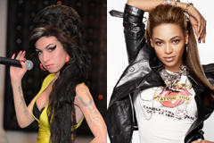 Amy Winehouse and Beyonce