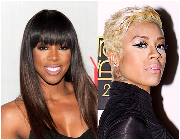 Kelly Rowland and Keyshia Cole