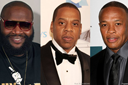 Rick Ross, Jay Z and Dr Dre