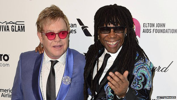 Nile Rodgers and Elton John
