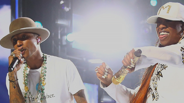 Pharell and Missy Elliot