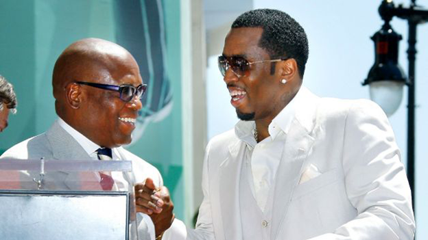 LA Reid and P Diddy