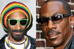 Snoop Lion and Eddie Murphy