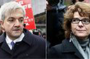 Chris Huhne and Vicky Price