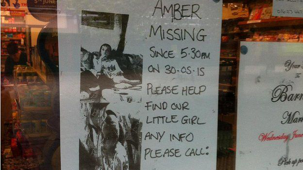 Amber Peat missing poster