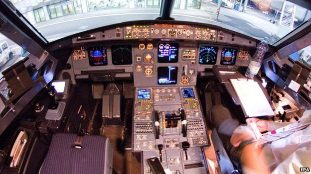 Germanwings Cockpit