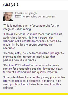 Frankie Dettori Analysis
