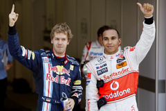 Lewis and Sebastian