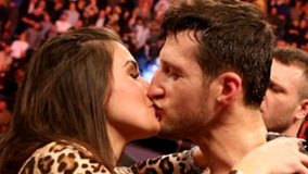 Carl Froch and Rachael Rachael Cordingley