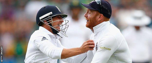 James Taylor and Johnny Bairstow