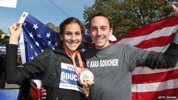 Kara and Adam Goucher