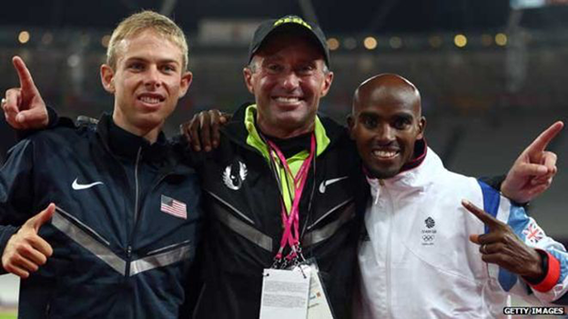 Rupp, Salazar and Mo Farah